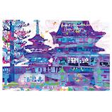 いろは出版 世界遺産アートポストカード TPCA-27 法隆寺五重塔