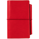 PAS-POL PASSPORT NOTEBOOK COVER PPC-01 レッド