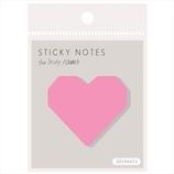 いろは出版 スタディプランナー ステッキーノート(STICKY NOTES) ふせん GSN−01 ハート