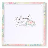 いろは出版 フラワーギャラリー 花を贈る寄せ書き色紙 スクエア GGYS−02 ピンク