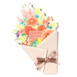 いろは出版 フラワーギャラリー 花を贈る寄せ書き色紙 ブーケ GGYB−02 パステル