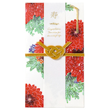 いろは出版 花を贈るご祝儀袋 ブロッサムロード GGS−05 レッド