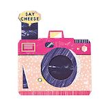 いろは出版 トイアルバム(TOY ALBUM) 仕掛けパーツ シャッターカメラ GTSC−02 ピンク