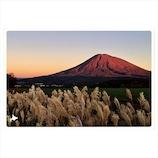 いろは出版 日本の絶景ポストカード 秋 羊蹄山/北海道