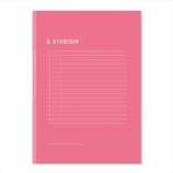 いろは出版 サマリーノートブック B5 ピンク│ノート・メモ 大学ノート・綴じノート
