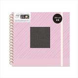 いろは出版 TOY ALBUM スクラップブックアルバム 黒台紙 LAVENDER│アルバム・フォトフレーム フォトアルバム