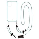 【iPhone12mini】 いろは出版 リトルクローゼット(LITTLE CLOSET) 着せ替えストラップケース グラスグリーン│携帯・スマホケース iPhoneケース