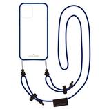 【iPhone12mini】 いろは出版 リトルクローゼット(LITTLE CLOSET) 着せ替えストラップケース グラスネイビー│携帯・スマホケース iPhoneケース