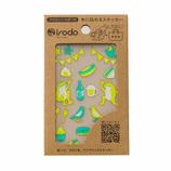 イロド(irodo) ファブリックステッカー ピクニック 90056 イエロー/ライムグリーン│手芸・洋裁用品 装飾用品