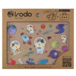 イロド(irodo) 布用転写シール スペースイロニャン 90099│シール