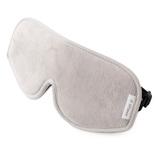 リフランス スリープマスク コンフォート フリーサイズ ライトグレー (一般医療機器)│乗り物用快適グッズ アイマスク・アイピロー