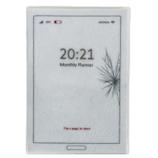【2021年4月始まり】 ラ・アプス スクリーン B6 マンスリー AG-8003 ホワイト 月曜始まり│手帳・日記帳 ダイアリー