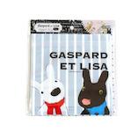 リサとガスパール ジッパーバッグ ストライプ