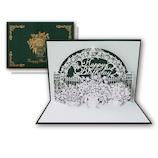 リーフワークカンパニー ハンドメイド バースデーカード 51‐051 ガーデン│カード・ポストカード バースデー・誕生日カード
