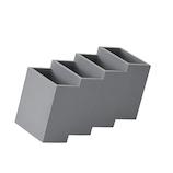 プラスディー(+d) リモココ DA-1230 グレー│収納・クローゼット用品 その他 収納ケース・ボックス