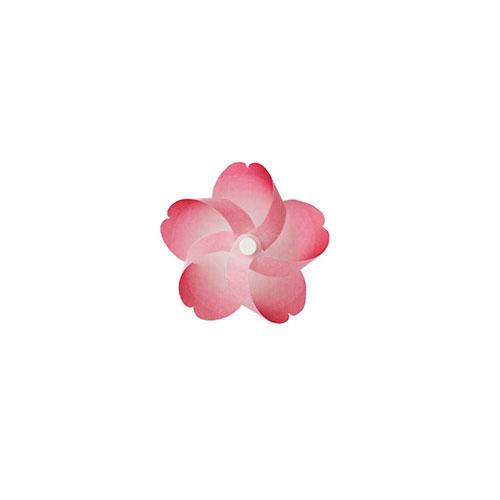プラスディー (+d) カゼグルマ 桜 DA−1181−S1A 濃桜│雑貨