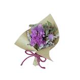日比谷花壇 ドライフラワー スモールブーケ ピンクパープル
