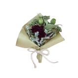 日比谷花壇 ドライフラワー スモールブーケ レッド