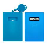 東急ハンズ限定 UNIQ(ユニーク) 残高表示機能付パスケース mirucaPLUS(ミルカプラス)&シリコンカバーセット ブルー