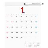 【2018年版・壁掛】 ほぼ日ホワイトボードカレンダー2018 ミディアム
