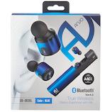 ARVO Bluetooth 完全ワイヤレスイヤホンマイク QB-083 ブルー│オーディオ機器 ヘッドホン・イヤホン