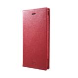 【iPhone6】4.7インチ グラマス フルレザーケース レッド