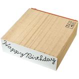 オスコ ラボ(OSCO LABO) ガーランドメッセージスタンプ Happy Birthday GM005