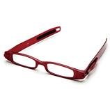ケースのいらない老眼鏡 レッド +1.5