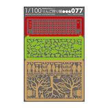 テラダモケイ 1/100建築模型用添景セット No.77 りんご狩り編│工作用品 添景セット