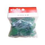 常陸 ビーチグラス 大 緑色 200g