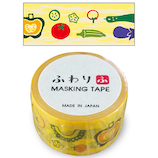 ふわり マスキングテープ FW47102 野菜