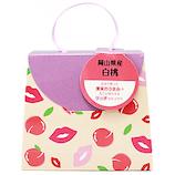 プチギフト 果実あめ ミニバッグギフト PG45629 岡山県産白桃