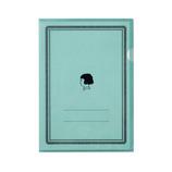 フロンティア オトナ女子の気くばり文具 A4クリアファイル KB5302 青磁│ファイル クリアホルダー