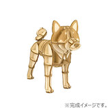 エーゾーン(Azone) ki-gu-mi Wooden Art 柴犬