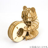 エーゾーン(Azone) ki-gu-mi Wooden Art 子パンダ遊び