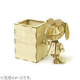 エーゾーン(Azone) Wooden Art ki-gu-mi ジョークール ペンスタンド│パズル 立体パズル
