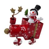 【クリスマス】 エズオリジナル ティントレイン 22425 スノーマン