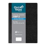 【2020年1月始まり】 クオバディス ABP2/アンパラ 12×17 変形B6 デイリー qv05101bk ブラック