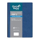 【2020年1月始まり】 クオバディス ABP2/アンパラ 12×17 変形B6 デイリー qv05101bl ブルー