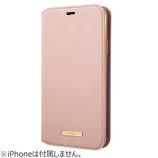 【iPhone11ProMax】 グラマス(GRAMAS) シュリンクPUレザーブックケース CBCLS-IP03 ピンク│携帯・スマホケース iPhoneケース