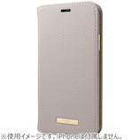 グラマス GRAMAS COLORS Shrink PU Leather Book Case for iPhone XS/X CBCLS-IP04 グレージュ│携帯・スマホケース iPhoneケース