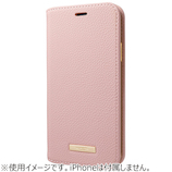 グラマス GRAMAS COLORS Shrink PU Leather Book Case for iPhone XS/X CBCLS-IP04 ピンク│携帯・スマホケース iPhoneケース