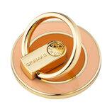 グラマス(GRAMAS) MEDIARING for Smartphone Circle ピンク×オレンジ│収納・クローゼット用品 携帯・スマホスタンド