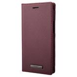 【iPhone12mini】 GRAMAS COLORS EURO Passione PU Leather Book Case ボルドー│携帯・スマホケース iPhoneケース