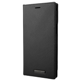 【iPhone12ProMax】 GRAMAS COLORS EURO Passione PU Leather Book Case ブラック│携帯・スマホケース iPhoneケース