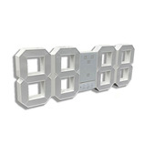 日本ポステック デジタル時計 トリクロック(TriClock) BIG TCK-BG-WH ホワイト│時計 壁掛け時計