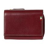 ミラグロ イタリアンレザー・三つ折り財布 CA-S-568 バーガンディー