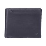 ミラグロ ベラ付二折財布 SL−O−026B ネイビー│財布・名刺入れ 二つ折り財布