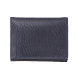 ミラグロ 三つ折財布 SL−O−030B ネイビー│財布・名刺入れ 二つ折り財布
