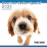 【2020年版・壁掛け】THE DOG アメリカンコッカー 403301